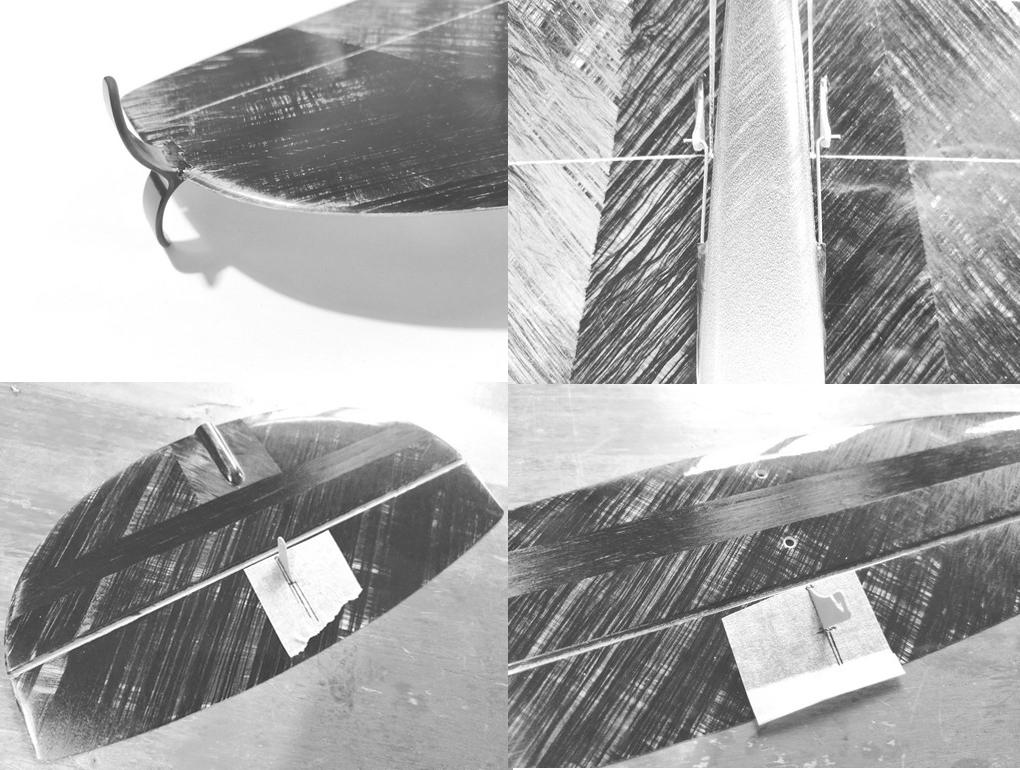 Bauservice F3K / DLG: Hawk 1M komplett inkl. Servos