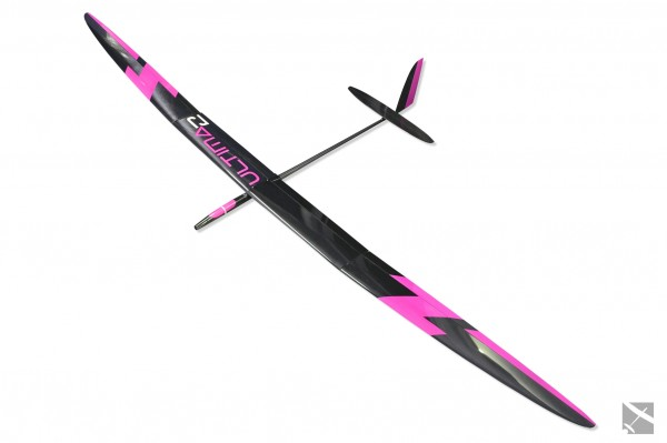 ULTIMA 2 - F5J 4M - VOLL CARBON STRONG LAYUP - PINK