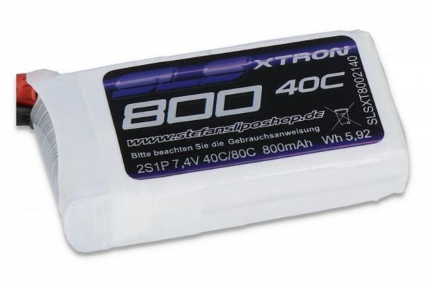 SLS XTRON 800MAH 2S1P 7,4V 40C/80C