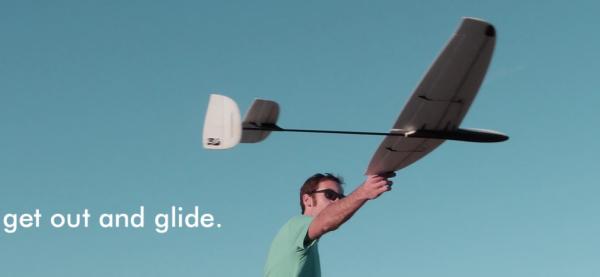 Dream Flight Libelle DLG ARF Kit 1,2M mit Carbon Heckrohr