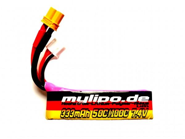 MyLipo 7,4V 333mAh 50C F5K