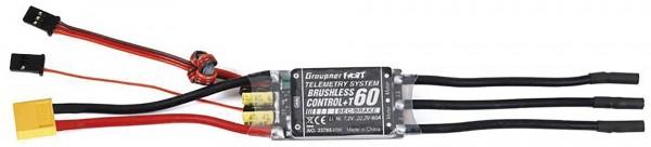 GRAUPNER  T60 BRUSHLESS CONTROL+ REGLER