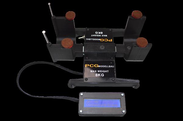 CG Scale Digitale Schwerpunktwaage Standard bis 8KG
